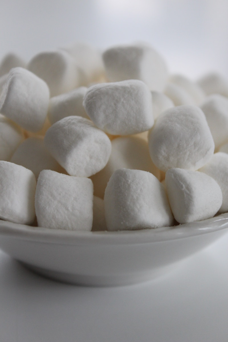bobbing-for-marshmallows